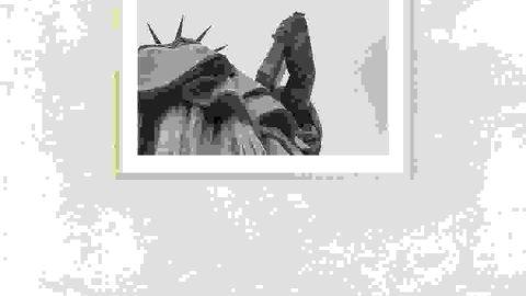 Liberty 2 photo frame