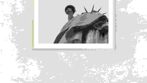 Liberty 1 photo frame